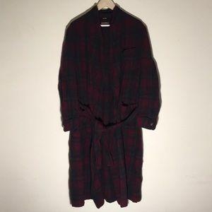 🔥Vintage Pendleton Plaid Robe